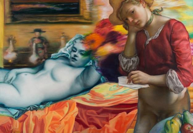 "Adams1 ""Blondie Bubba"" by Artist Jamie Adams Design"
