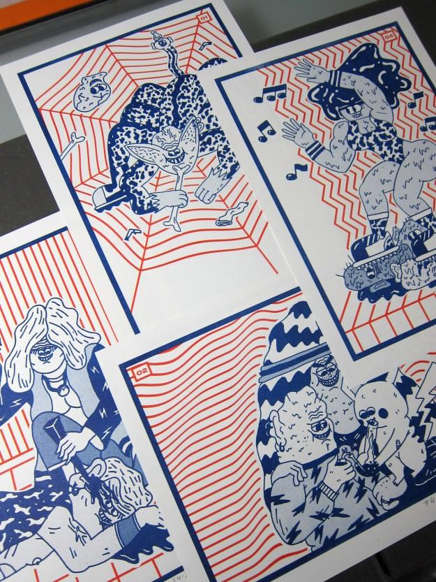 Burnbjoern4 Illustrator Spotlight: BURNBJOERN Design