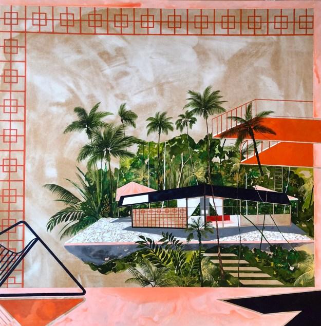 "Keates1 ""The Kennedy Trip"" by Artist Charlotte Keates Design"
