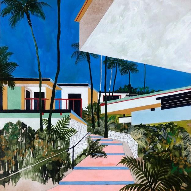 "Keates12 ""The Kennedy Trip"" by Artist Charlotte Keates Design"