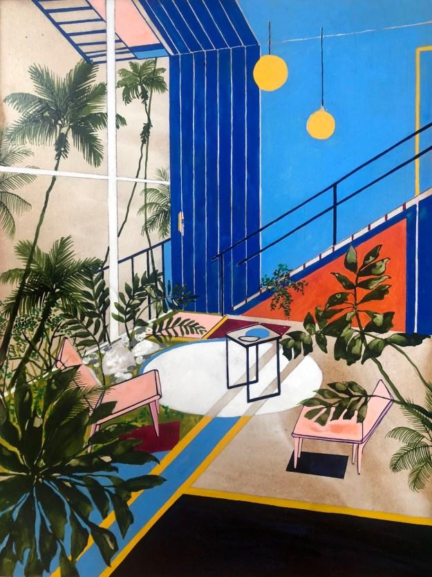 "Keates14 ""The Kennedy Trip"" by Artist Charlotte Keates Design"