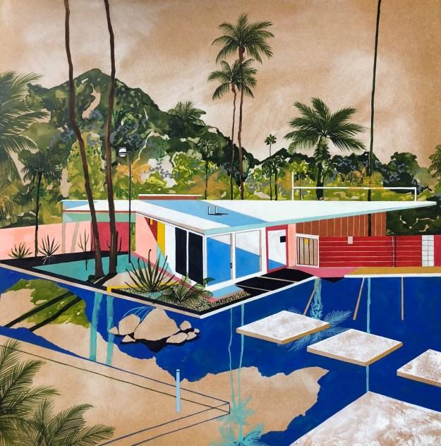 "Keates4 ""The Kennedy Trip"" by Artist Charlotte Keates Design"