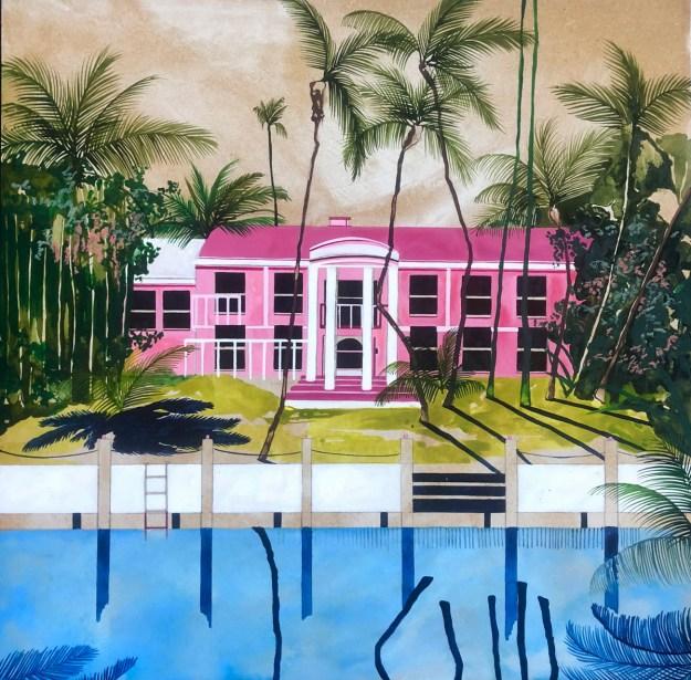 "Keates8 ""The Kennedy Trip"" by Artist Charlotte Keates Design"