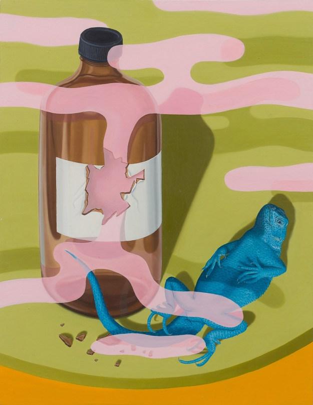 """Pigott1 """"Slippery Gaze"""" by Artist Tristan Pigott Art Design"""