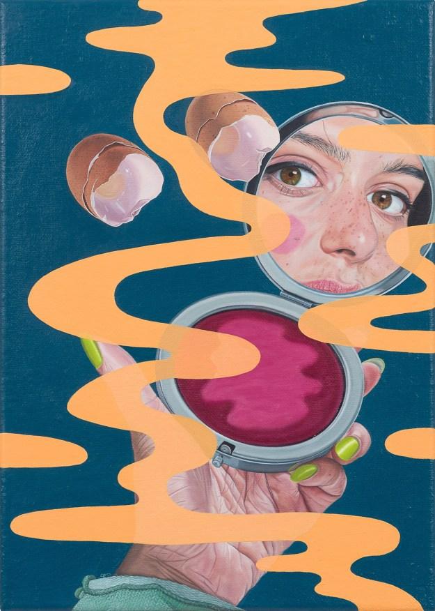 """Pigott13 """"Slippery Gaze"""" by Artist Tristan Pigott Art Design"""
