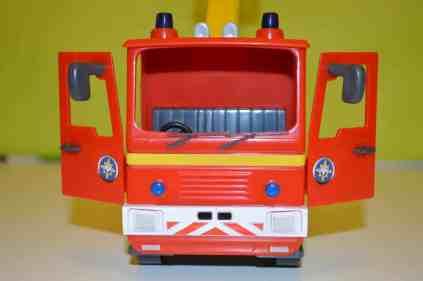 Fireman Sam Jupiter Fire Engine