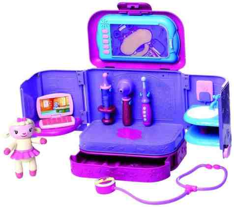Doc McStuffins Carry Along Clinic Playset