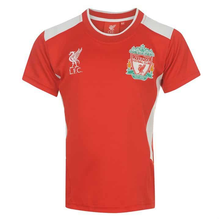 Source Lab Liverpool Football Club T Shirt Juniors