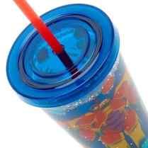 Big Hero 6 Waterfill Tumbler With Straw B