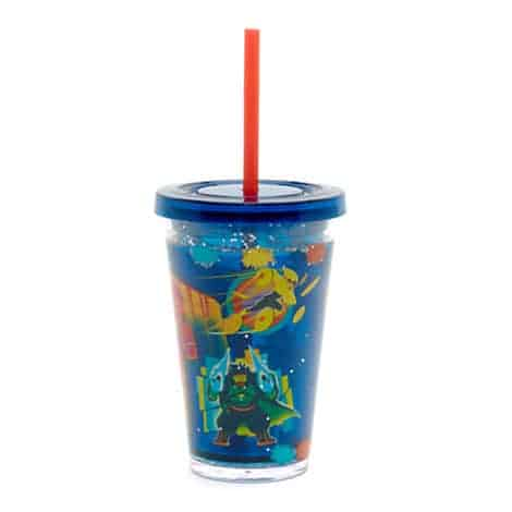 Big Hero 6 Waterfill Tumbler With Straw C