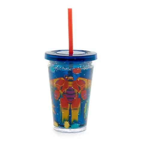 Big Hero 6 Waterfill Tumbler With Straw