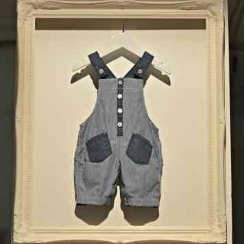 Nutmeg SS15 - Baby Dungarees