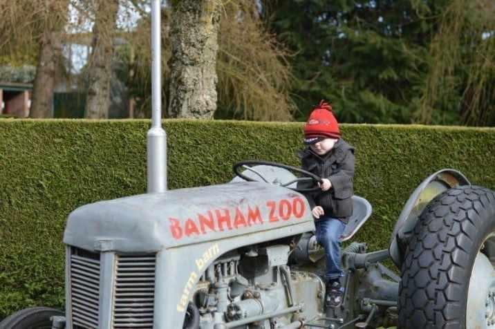 Banham Zoo - Tigger Tractor