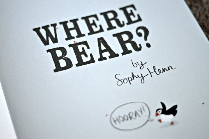 Where Bear HOORAY!