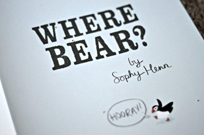 Where Bear HOORAY!