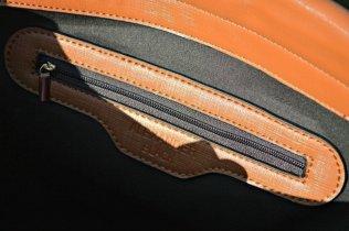 Alexander Black Brown Bag - Inner zip
