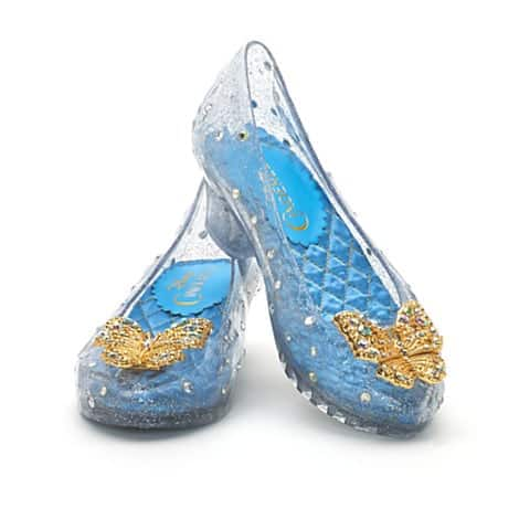Cinderella Deluxe Costume Shoes For Kids