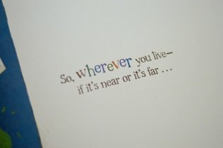 So wherever you live - if its near or its far