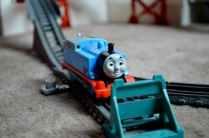 Trackmaster Breakaway Bridge Playset - Thomas track end