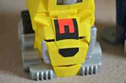 Imaginext Power Rangers Morphin Megazord - Chomping Sabertooth