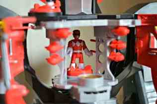 Imaginext Power Rangers Morphin Megazord - Control panel