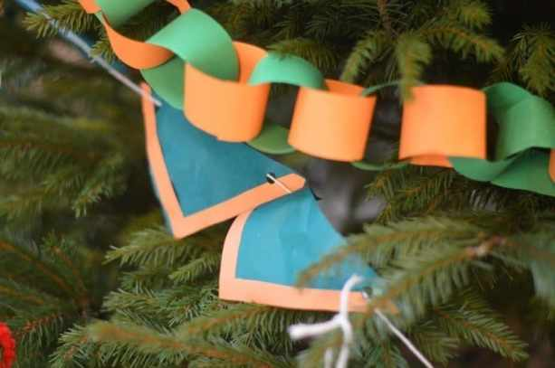 North Yarmouth Buccaneers Christmas Tree bunting