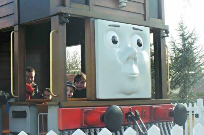 Drayton Manor Thomas Land - Toby's Tram Express (Roo and Tigger)