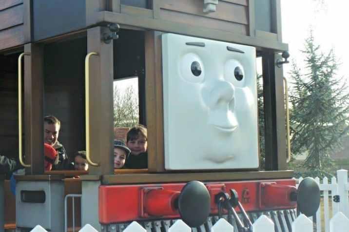 Drayton Manor Thomas Land - Toby's Tram Express (Roo and Tigger)