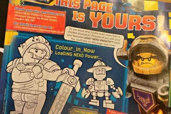 LEGO NEXO Knights Magazine - Fan page