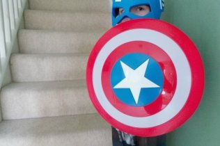 Captain America Civil War Shield