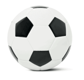 PVC Leather Football, £5