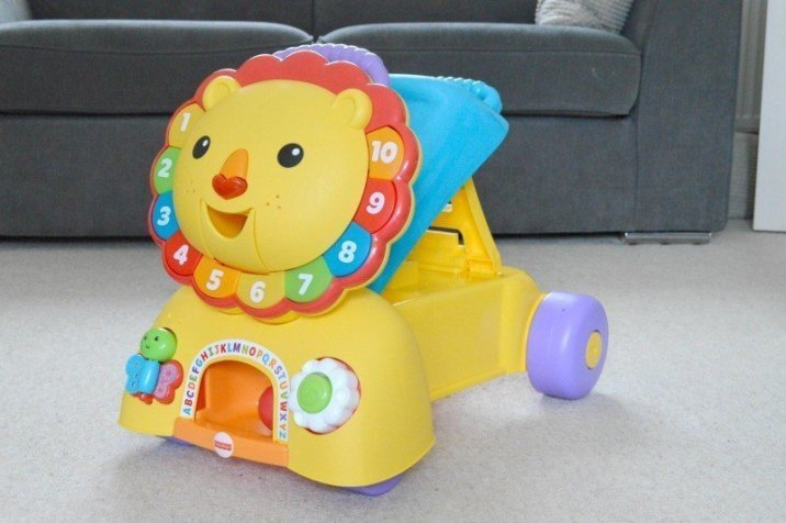 Fisher-Price 3-in-1 Sit, Stride & Ride Lion - Stride