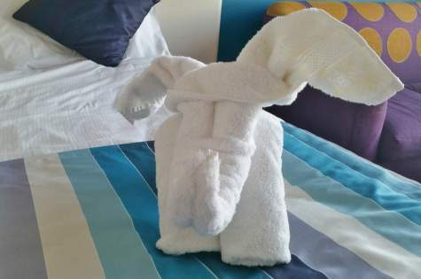 butlins-shoreline-hotel-elephant-towel-creation