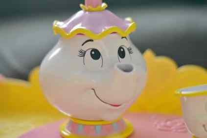 Disney Belle Musical Tea Party Cart - Mrs Potts