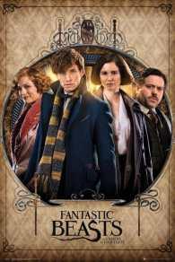 Fantastic Beasts Group Fram Maxi Poster