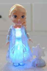 Frozen Northern Lights Elsa Doll - Lights