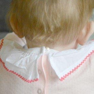 Rockin' Baby Frilly Collar Bodysuit