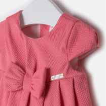 Baby girl cotton pique dress