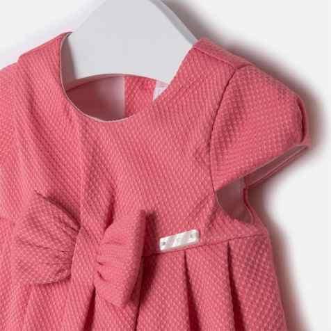 Baby girl cotton pique dress