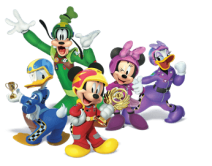 Mickey and the Roadster Racers - Characters