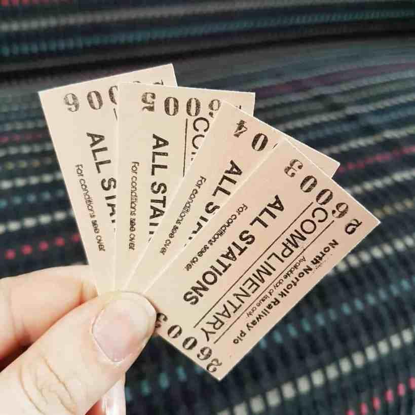 North Norfolk Railway Tickets