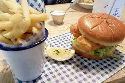 Fish House - Fish Finger Sandwich