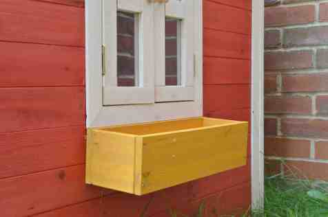Crooked Mansion Wooden Playhouse - Window box