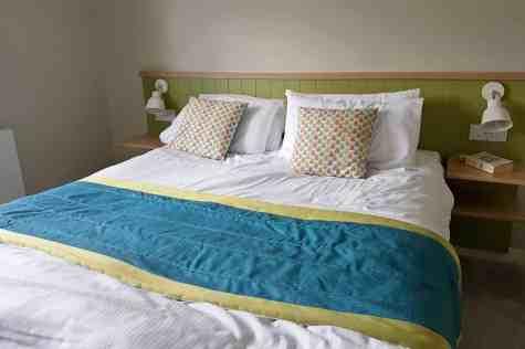 Butlins Minehead Lakeside Chalet - Upstairs Double Bedroom