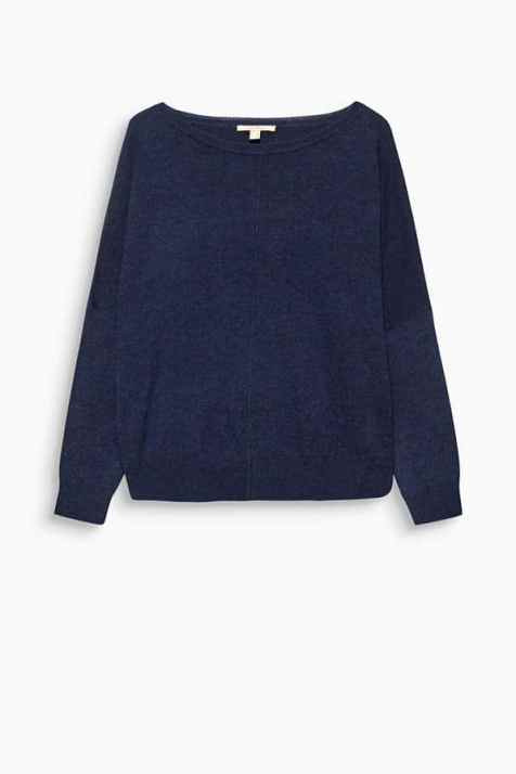 Jumper with a back button placket
