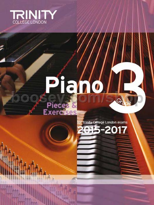 Piano Exam Pieces Amp Exercises Grade 3