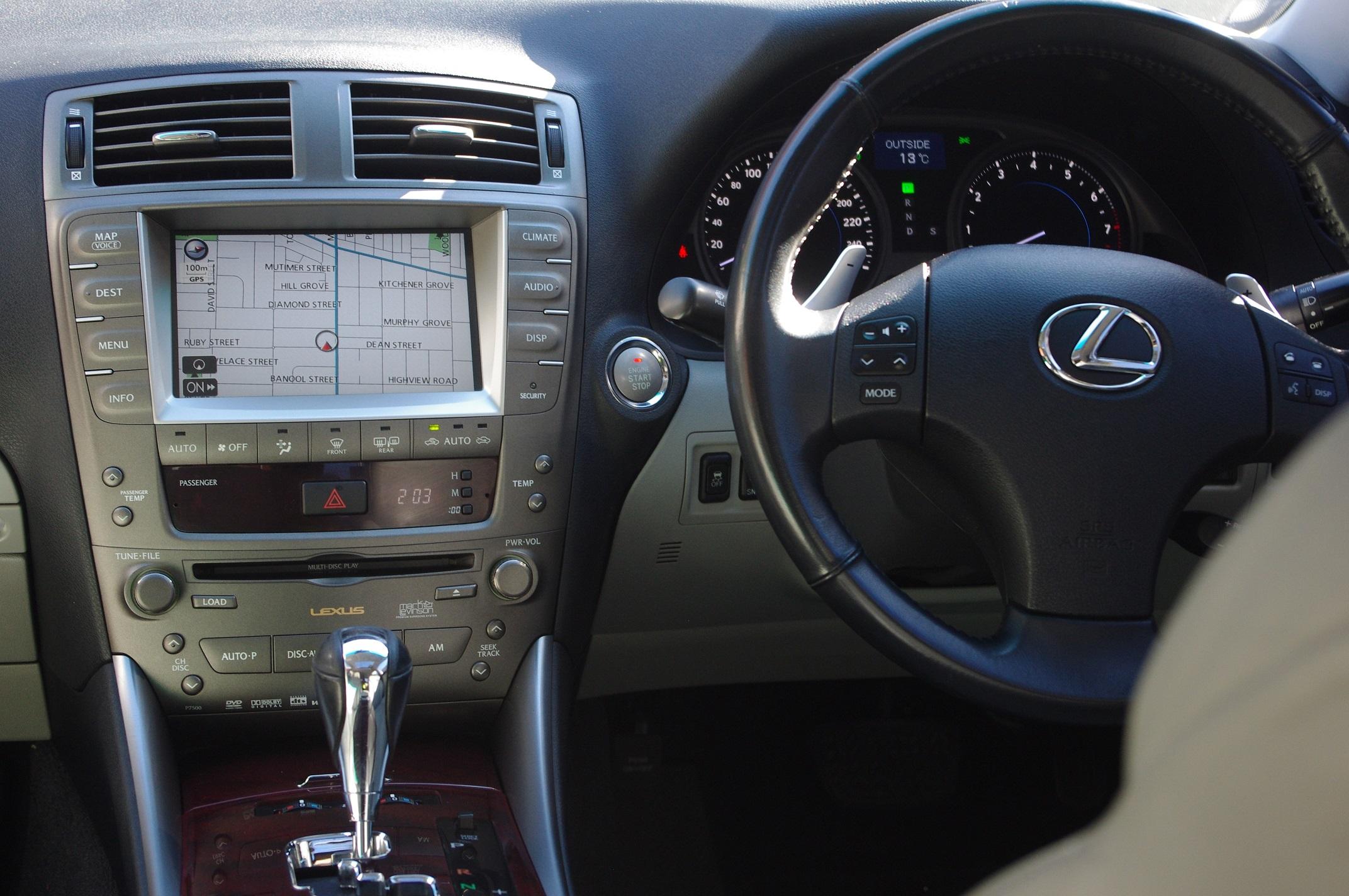 2007 Lexus IS250 Sports Luxury GSE20R