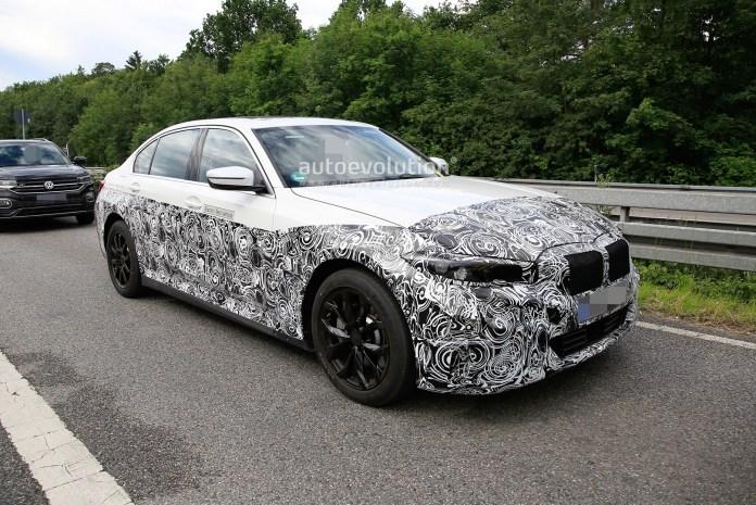 Den kommende 3 Serie får noget mindre nyrer, end vi har set dem fra BMW i mange år efterhånden. Mon fabrikken har fortrudt kaningabet?