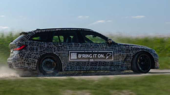 BMW er på jagt - på rekordjagt. Den nye M3 Touring skal ikke bare være den første af sin slags - den skal være den hurtigste rundt på Nürburgring.