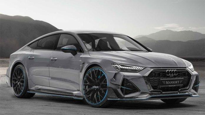 Mansory har løftet sløret for en lang række opgraderinger til den nyeste generation Audi RS7 Sportback